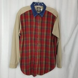 Vintage Panhandle Slim Rough Stock mens top M